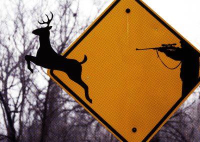 deer-sign