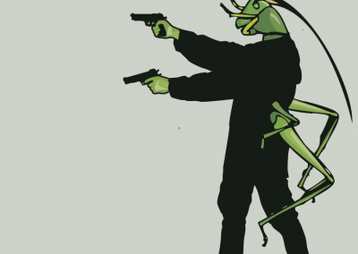 human-locust